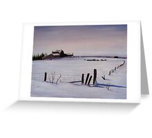 SOLD - Cattle Farm Greeting Card