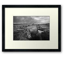 Scorhill Stone Circle Framed Print