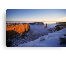 Independence Rock, Colorado National Monument Canvas Print