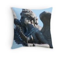 Angelic Resolve Throw Pillow