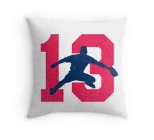 No. 13 Throw Pillow