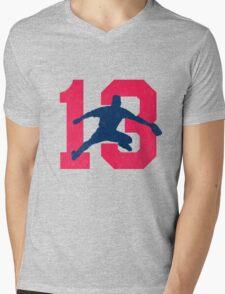 No. 13 Mens V-Neck T-Shirt