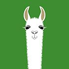 LLAMA PORTRAIT #2 by Jean Gregory  Evans