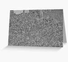 Engraved Garden Greeting Card