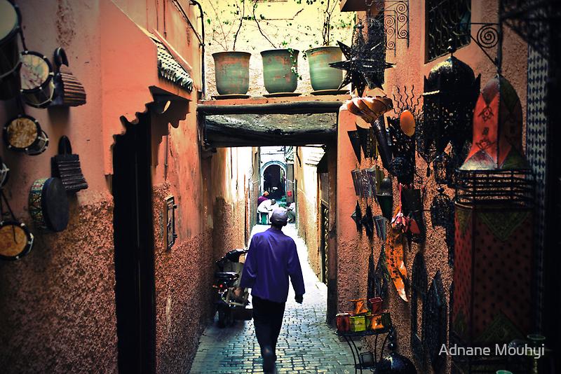 Medina walker by Adnane Mouhyi