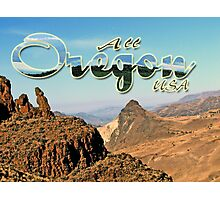 All of Oregon is not Forest & Ocean Photographic Print