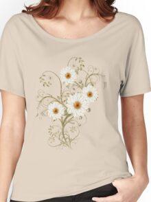 Summer Flowers Women's Relaxed Fit T-Shirt
