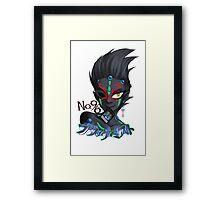Yu-Gi-Oh Zexal: Black Mist Framed Print