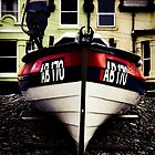 Crab boat, Borth, Wales, UK. by Steve Crompton