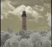 Jupiter Light House by Gail Falcon