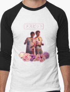 Phan-Aesthetic-Flower Design Men's Baseball ¾ T-Shirt