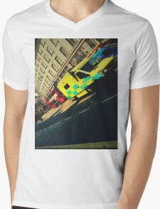 London Call Ambulance Mens V-Neck T-Shirt