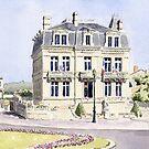 Mairie, Place de l'Hotel de Ville, Montbron, France by ian osborne