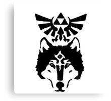 Zelda Twilight Princess - Wolfs eye Canvas Print