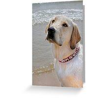 Dad's Dog Greeting Card