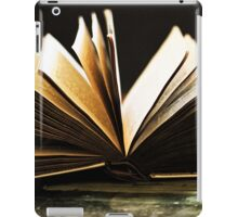 Open Book -Pages- iPad Case/Skin