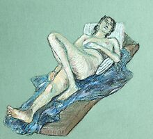 Pastel Nude 2 by Mike Paget