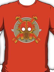 Art Deco Gasmask (Transparent) T-Shirt