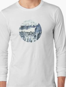 You'll Find Me In The Forest Long Sleeve T-Shirt
