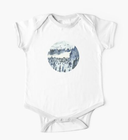 You'll Find Me In The Forest One Piece - Short Sleeve
