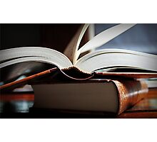 Open Book  -A Moment In Time- Photographic Print