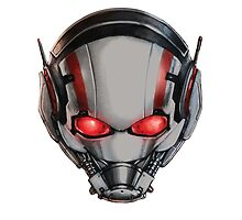 ANT-MAN COOLEST MASK EVER!!! by shooterch