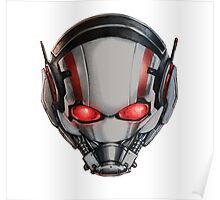 ANT-MAN COOLEST MASK EVER!!! Poster