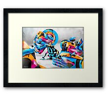Toxic Camouflage Framed Print