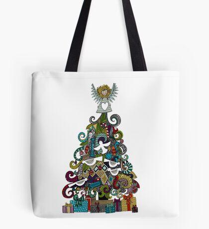 angel tree Tote Bag