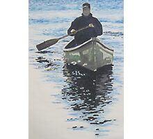 Lone Paddler Photographic Print