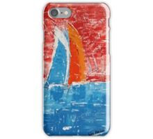 Sails away iPhone Case/Skin
