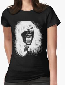 Inverted Screaming Womens Fitted T-Shirt