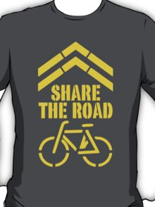Share The Road T Shirts, Stickers and Other Gifts T-Shirt
