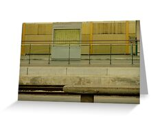 Bologna Centrale Greeting Card