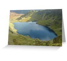 Llyn Cau, Cadair Idris, Wales Greeting Card