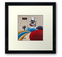 Kattebak Framed Print