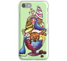 Dinosaur Ice Cream iPhone Case/Skin