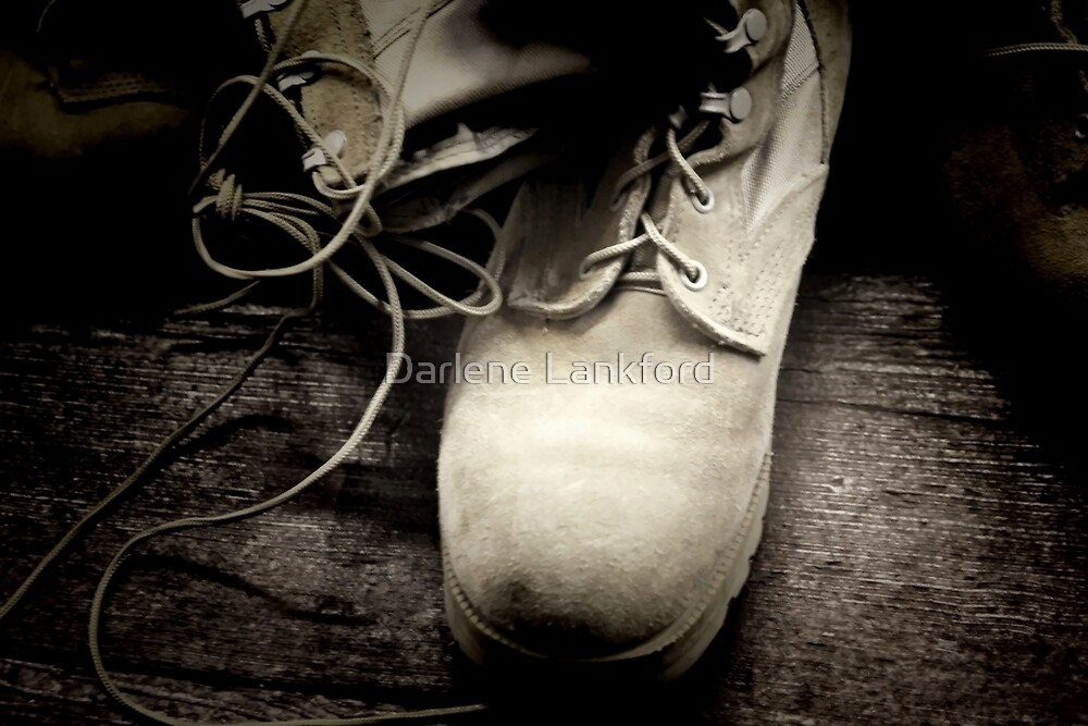 Boots on the Ground by Darlene Lankford Honeycutt