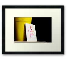 At the touch of love everyone becomes a poet.  Framed Print