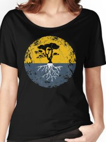 Tree of Life - Rustic Women's Relaxed Fit T-Shirt