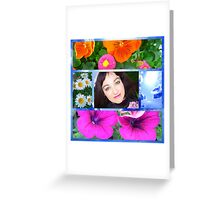 Coming up flowers Greeting Card
