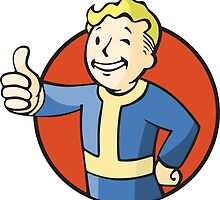 Fallout Vault Boy by InfamousPixel