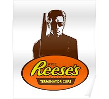 Kyle Reese's Terminator Cups Poster