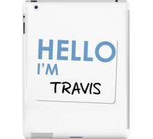 Fight Club - Hello I'm Travis iPad Case/Skin