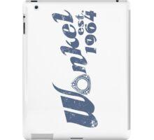 Wankel Blue iPad Case/Skin