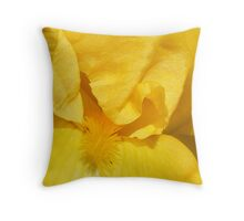 True Yellow Beauty Throw Pillow