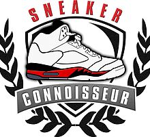Sneaker Connoisseur-J5-Bt by tee4daily
