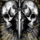 Skull-Dagger Heart by Jeff Ballance