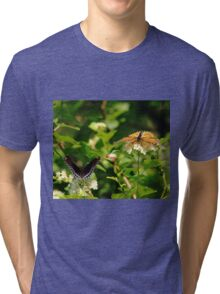 Wings And Blooms Tri-blend T-Shirt