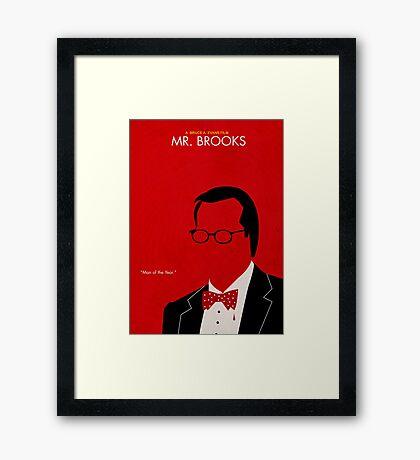 Mr. Brooks Framed Print